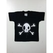Camiseta Infantil Caveira Rock - Equinox