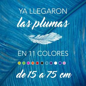 Plumas De Avestruz Chicks De 45 A 54 Cm, En 11 Colores.
