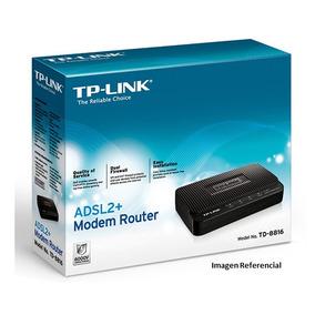 Modem Router Tp-link Td-8816 Adsl2 Nuevo Tt