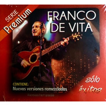 Franco De Vita Cd Serie Premium Solo Exitos