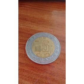 Moeda De N$ 5 Pesos Estados Unidos Mexicanos 1993