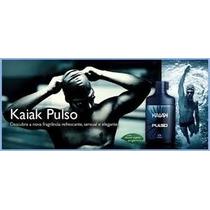 Kaiak Pulso 100ml Natura + Amostras De Fragrâncias+frete