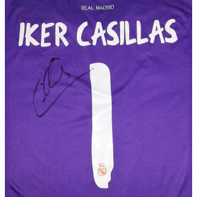 Jersey Firmado Iker Casillas Real Madrid Portero adidas