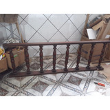 Corremão Antigo Escada Balaustre Madeira De Lei Aparador