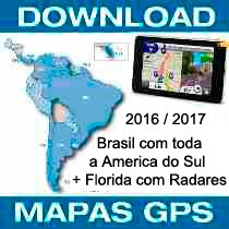 Mapa Gps Garmin Nuvi 2018 Brasil C/ Am Sul+ Radares+ Florida