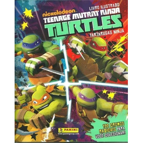 Album De Figurinhas - Teenage Mutant - Tartaruga Ninja