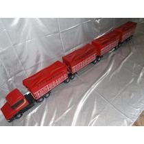 Super T124 Scania 4 Carreta 2,30 Metros Bitrem Brinquedo