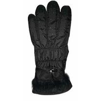 Luva Térmica Impermeável-frio Intenso-neve-preto P/m-preto