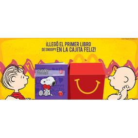 Cajita Feliz Mcdonald´s Libros Snoopy Y Sus Amigos