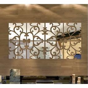 Espelho Decorativo Acrílico Quadros De 50cm