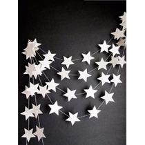 Cortina Fileira De Estrelas,decoração,natal, Festas,(fileira