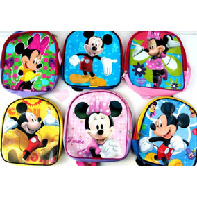 Mochila Dulcero Mickey O Mimi Minnie Mouse