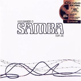 Lp Tom Zé Estudando O Samba 180g Lacrado Produto Oficial