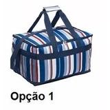 Bolsa Térmica + Tenda Branca + Carrinho Mesa + Guarda-sol