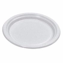Prato Descartável Raso N° 15 (15cm) Com 1000 Un -total Plast