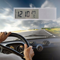 Relógio E Temperatura Digital Para Carro Taxi Sem Fio Painel