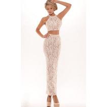 Vestido Palatzo Mini Sexy Elegante Falda Largo Boda Maxi Top