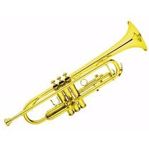 Trompete Hoyden Htr 25 L Laqueado Sib C/ Estojo Luxo E Bocal