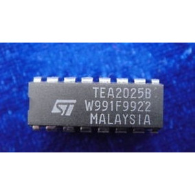 Tea2025 Tea 2025 - 1w Stereo Amplifier 16p...