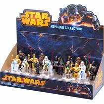 Coleção De Chaveiros Star Wars 24 Peças - Multikids Br349