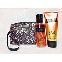 Conjunto Victoria´s Secret Necessaire E Kit Blush