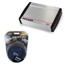 Kicker Audio Kx1600.1 Clase D Amplificador 1600w Bajo Subwo