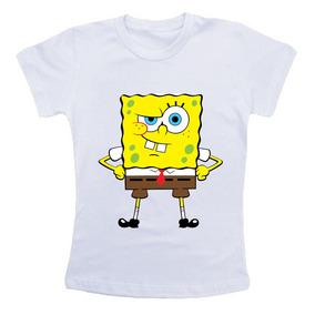 Camiseta Infantil / Criança Bob Esponja Ctx3478