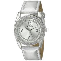 Reloj Xoxo Para Dama. Extensible Plateado. Nuevo Y Original.