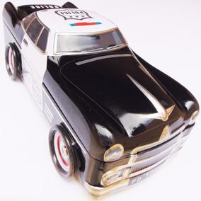 Carrinho Carro De Lata Automóvel De Polícia Modelo Antigo