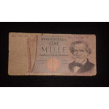 Antiga Cedula Italiana - 100 Liras