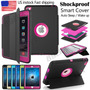 Extreme Full Body Shockproof Stand Flip Smart Combo Case