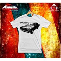 Camiseta Carros Clássicos Opala 1974
