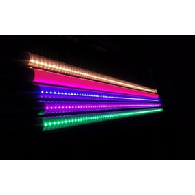 Luminario Led Tubo T8 18w De Colores