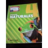 Libro Ciencias Naturales 4 Editorial Santillana C.a.b.a