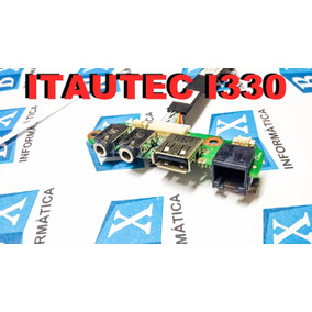 Placa Audio Usb Ntelbras I330
