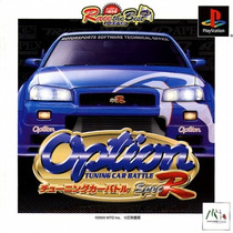 Option Tunning Car Battle - Playstation 1 - Psone - Psx