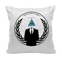 Almofada Illuminati Anonimos Pirâmide Olho 30 X 30 Cm
