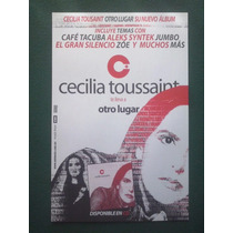 Cecilia Toussaint Poster Promo Otro Lugar Zoe Syntek Tacuba