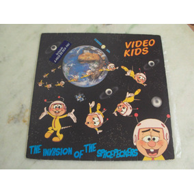Lp Video Kids - 1985 The Invasion On The Spacepeckers (nm)
