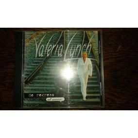 Cd Valeria Lynch De Regreso Al Amor 1996. Escucho Ofertas