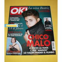 Justin Bieber Livia Brito Danna Paola Revista Ok 2013