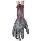 Decoración Halloween Terror Mano Zombie Adorno Caucho