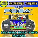 Sega Portatil 16 Bit (12 Juegos) P/cartuchos Comunes Loc-cap