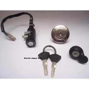 Kit Chave Ignição C/ Tampa Tanque Sundown Stx 200 Gjb
