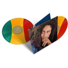 Lp Vinil Bob Marley Legend Duplo Tricolor 180g Lacrado