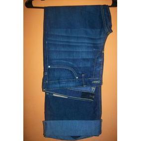 Yeans De Dama Tiro Medio Corte Recto Marca Cuesta Blanca