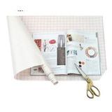 Protector Adhesivo Transparente 53x37cm P/ Forrar Cuadernos