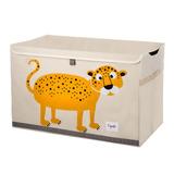 Baúl De Juguetes 3 Sprouts Leopardo Amarillo