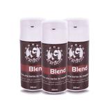 Kit Blend Tratamento 3 Meses 3x30ml Barba De Respeito