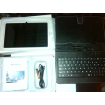 Combo Tablet Pc Quad Core A33 8gb Estuche Teclado